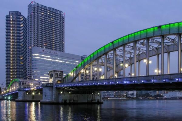 Puente de acero (Tokio, Japón)