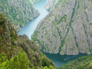 Cañón del Sil (Orense, Galicia)