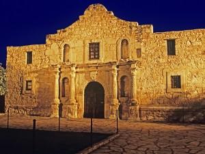 Postal: Misión de Álamo (Texas)