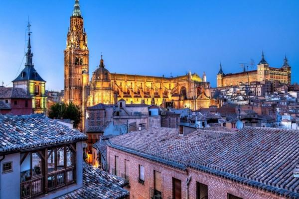 Vista de la ciudad de Toledo