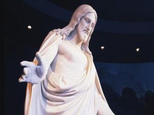 Postal: Estatua de Jesucristo