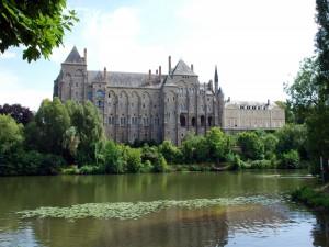 Postal: Abadía Saint-Pierre de Moissac (Francia)