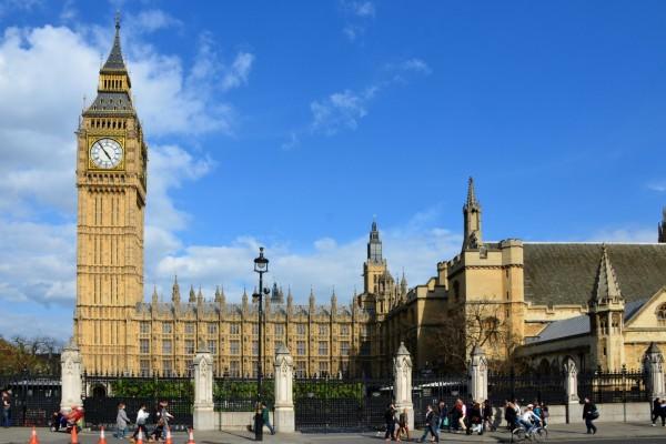 El Big Ben y Palacio de Westminster (Londres)