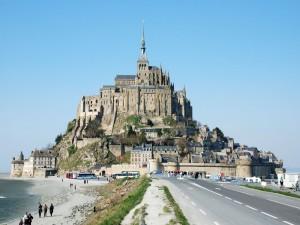 Postal: Monte Saint-Michel (Francia)