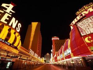 Postal: Una calle de las Vegas