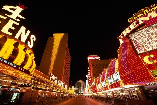 Una calle de las Vegas