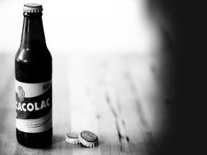 Postal: Botella de cacolac