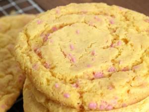 Ricas galletas de vainilla