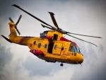 Helicóptero canadiense de rescate