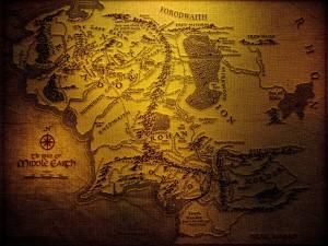 Mapa de El Señor de Los Anillos