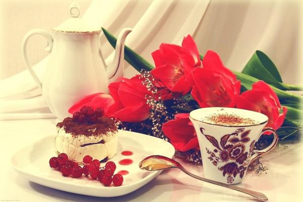Delicioso pastelito para merendar