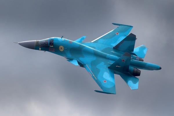 Avión ruso de combate SU-27