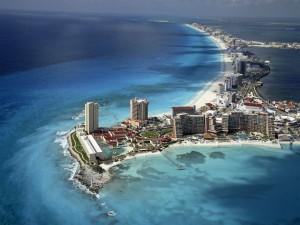 Cancún, costa de México