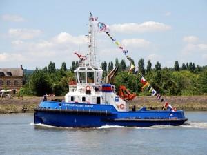 Postal: El barco Capitaine Albert Ruault (Francia)