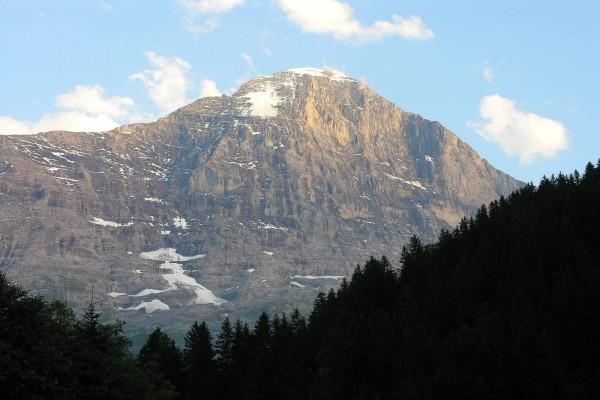 La cara septentrional del Eiger, Suiza