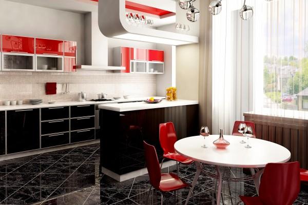 Una elegante y moderna cocina