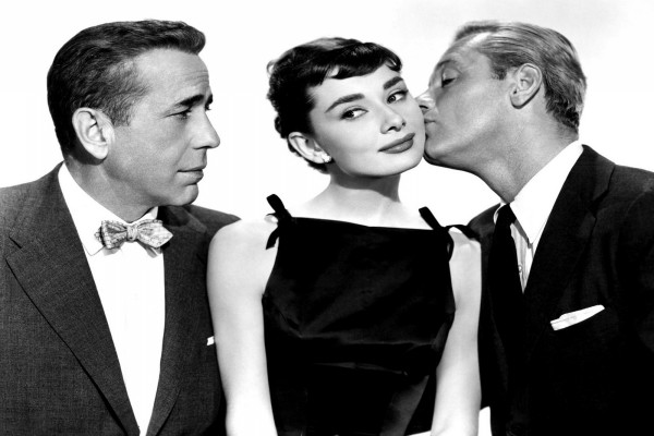 """Sabrina"" Audrey Hepburn, Humphrey Bogart y William Holden"