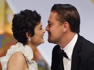 Leonardo DiCaprio y Audrey Tautou