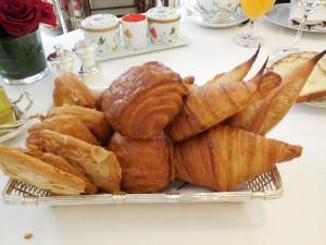 Bollería para el desayuno