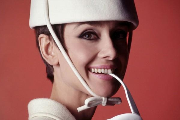 La bella actriz Audrey Hepburn