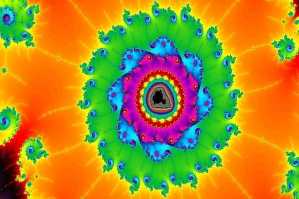 La simetría del fractal