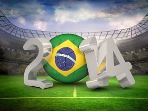 Postal: Copa Mundial de Fútbol 2014