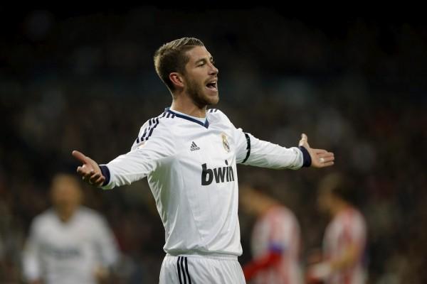 El jugador del Real Madrid, Sergio Ramos