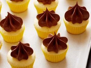 Postal: Cupcakes con crema de chocolate
