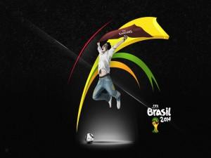 Postal: Copa Mundial de Fútbol Brasil 2014