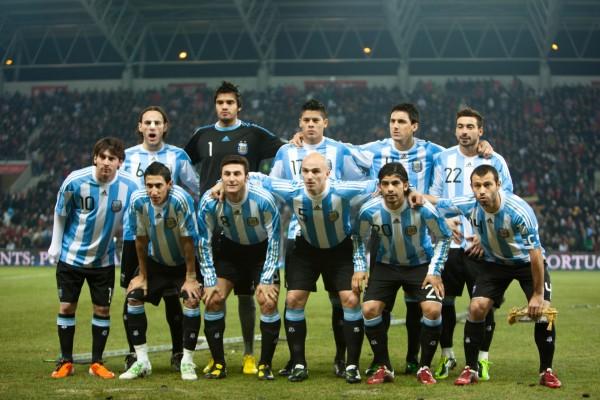 Selección Argentina de Fútbol sobre la hierba