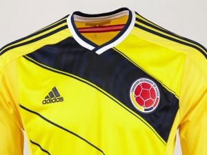 Postal: Camiseta de la Selección Colombiana de Fútbol