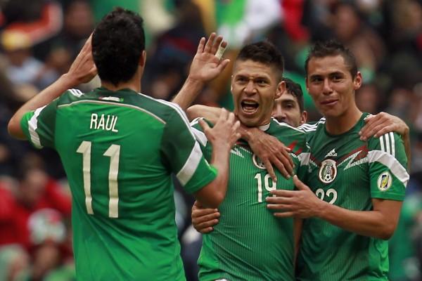 Felicidad de los jugadores de la Selección Mexicana