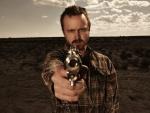 Jesse Pinkman apuntando con la pistola