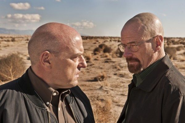 Walter White y su cuñado Hank