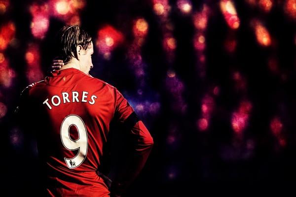 Torres con el número 9
