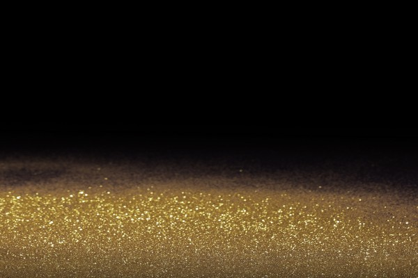 Brillantina dorada
