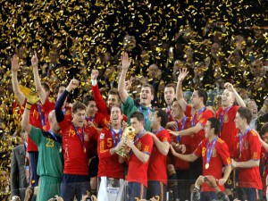 La Selección Española campeones del Mundial de Sudáfrica 2010