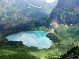 Vista total del del lago