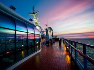 A bordo de un barco