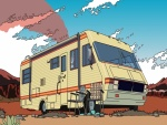 Dibujo de la caravana de Breaking Bad