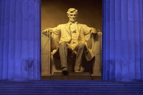 Estatua de Abraham Lincoln (Lincoln Memorial)