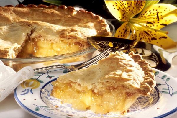 Pastel americano de manzana
