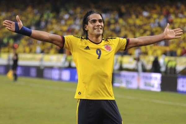 Falcao, jugador de la Selección Colombiana