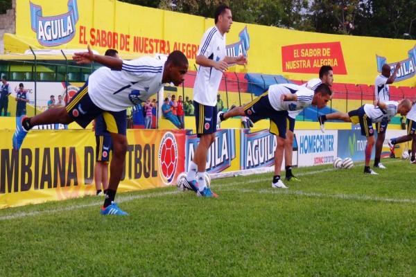 Entrenamiento de la Selección Colombiana