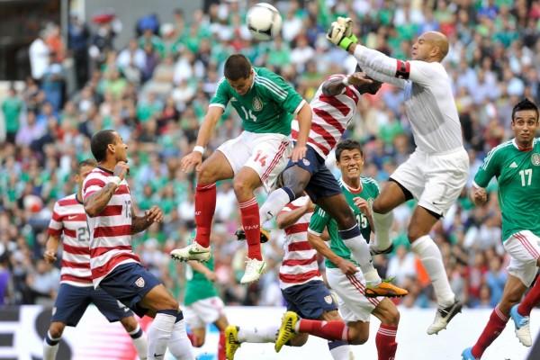 Partido de la Selección Mexicana contra  Estados Unidos