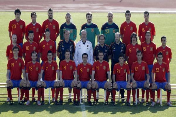 Foto de la Selección Española de Fútbol