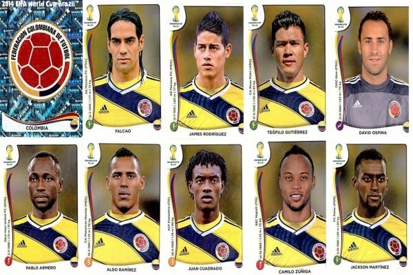 Jugadores de la Selección Colombiana para el Mundial 2014