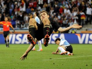 Miroslav Klose (Alemania-Argentina 2010)