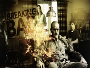 Cartel de la serie Breaking Bad