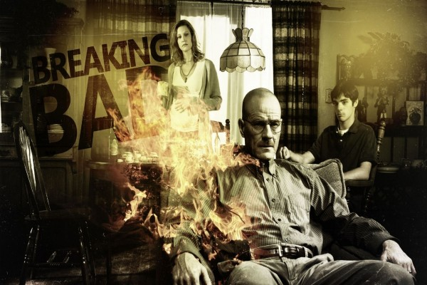 Cartel de la serie Breaking Bad
